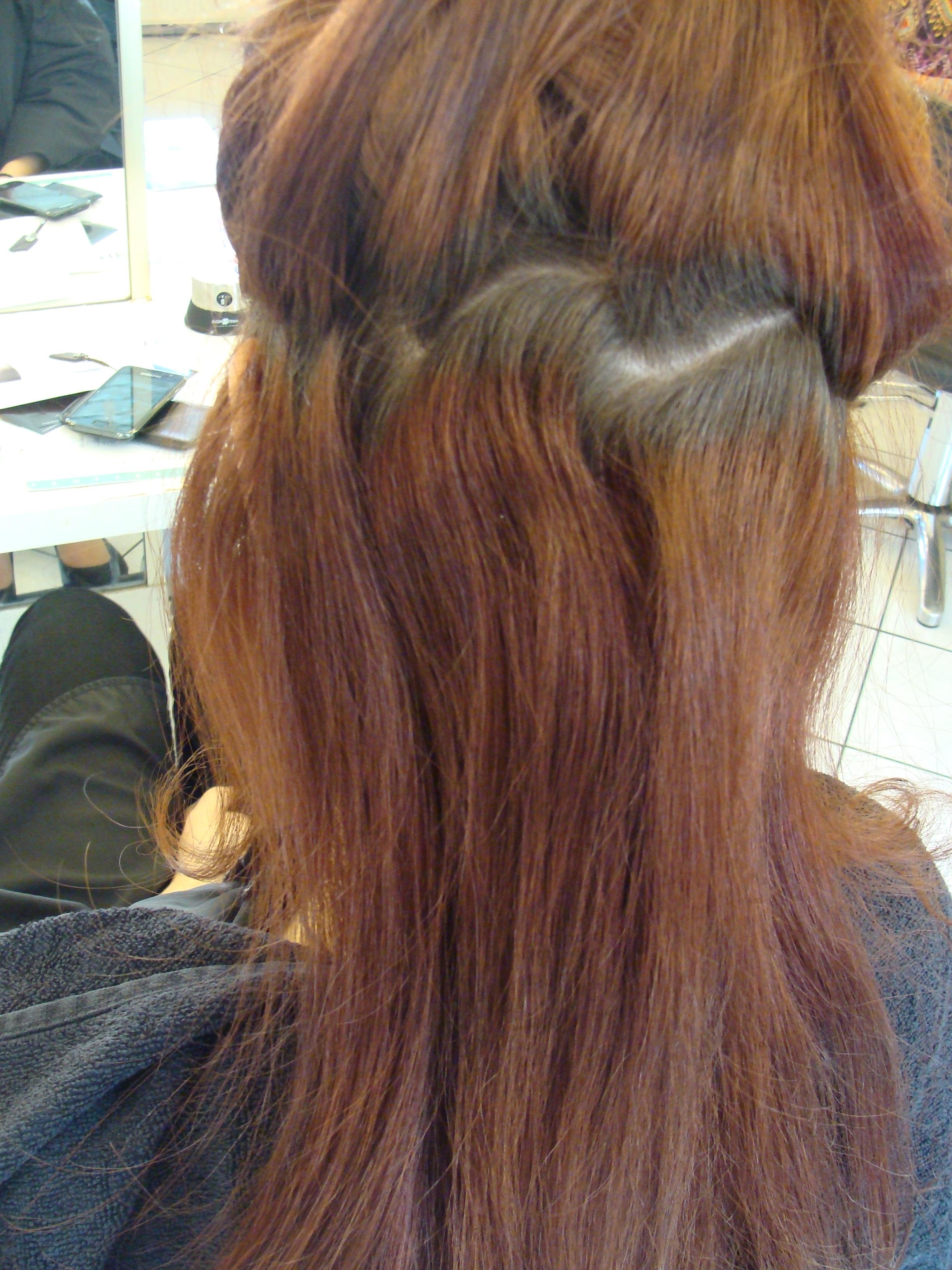 Pousse naturelle des cheveux