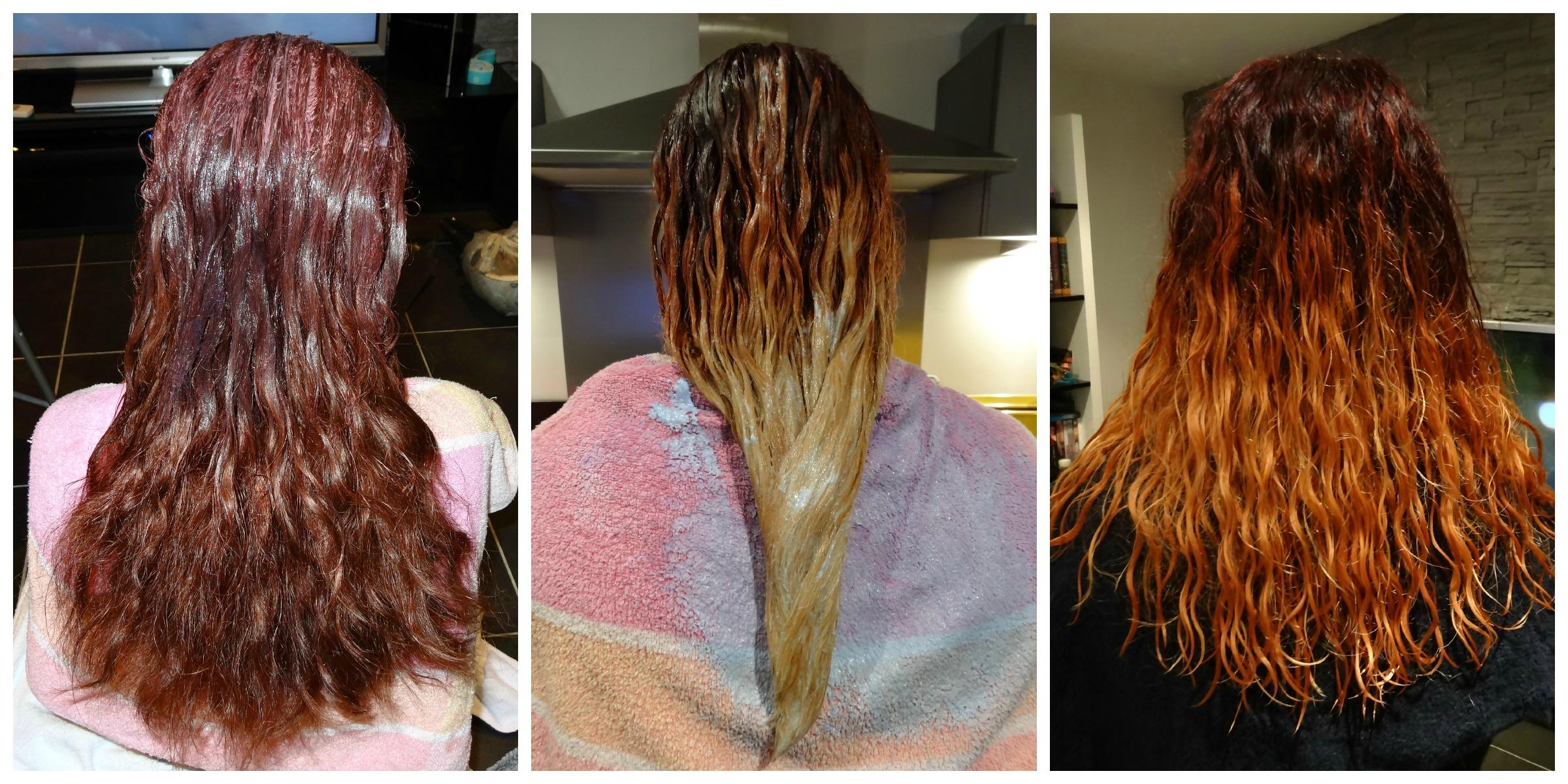 picmonkey collage - Eclaircir Cheveux Colors