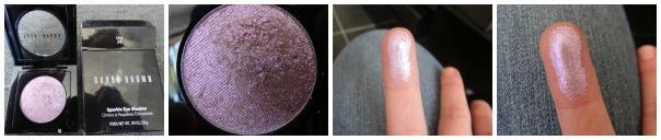 Ombre à paupières étincelante teinte Lilac
