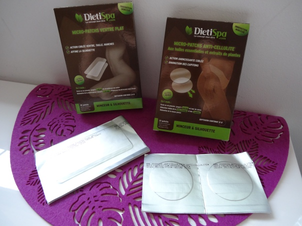 DIETISPA: Micro-patchs anti-cellulite et ventre plat