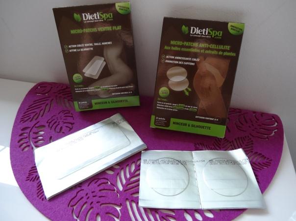 DIETISPA: Micro-patchs anti-cellulite et ventre plat
